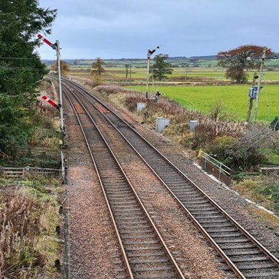 Rail project Greenhill to Dundee Line